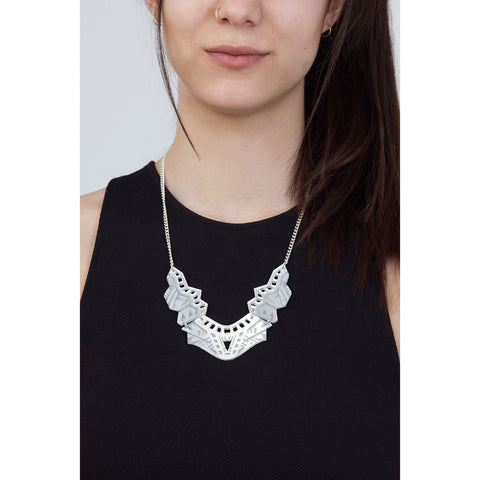Makha Necklace - Silver
