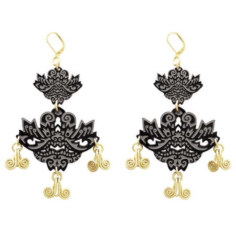 Yamaraja Earrings