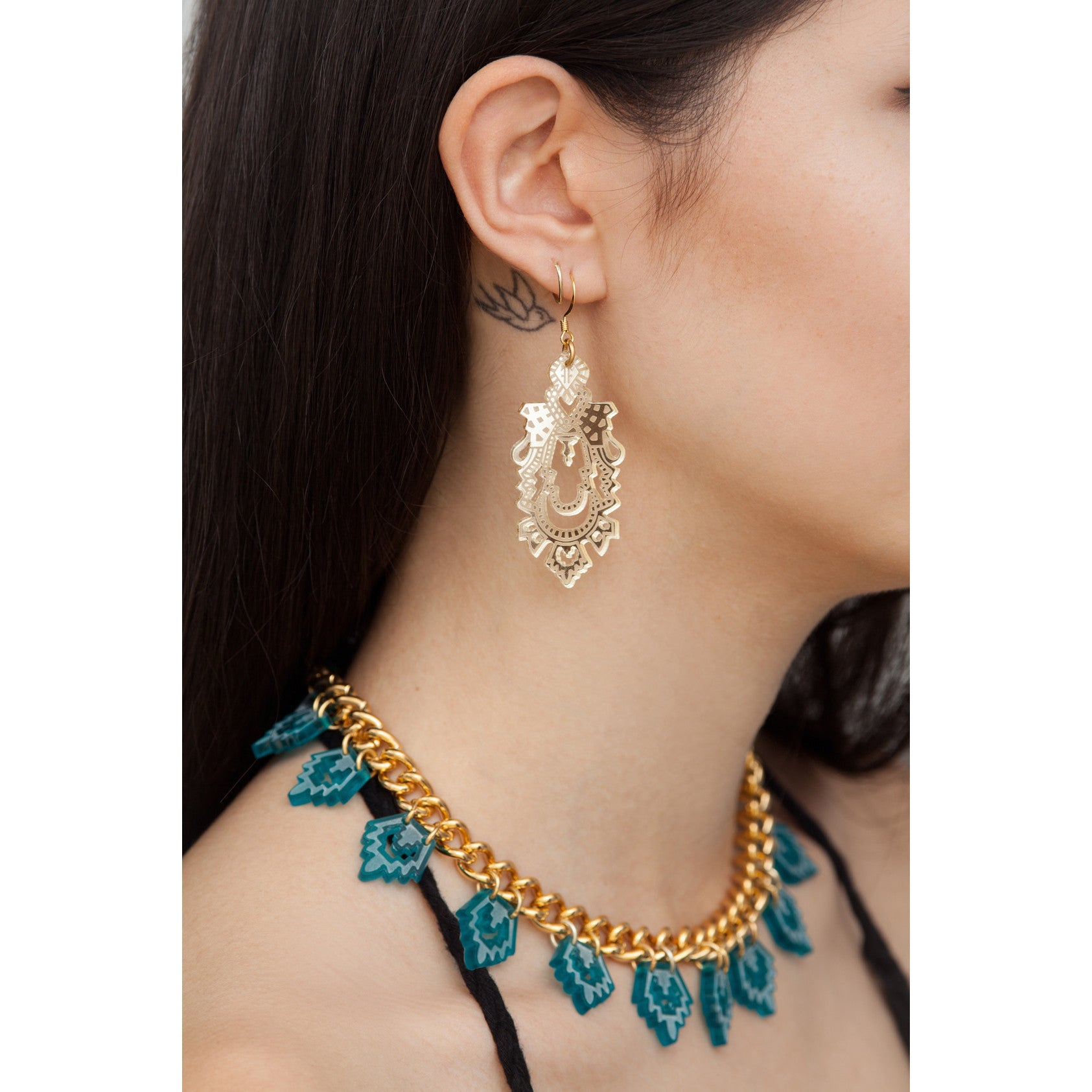 Mini Palace Earrings