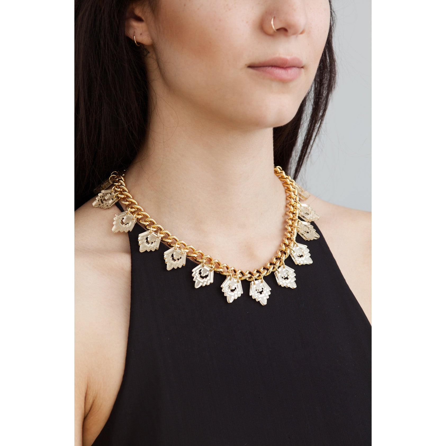 Sala Necklace - Gold