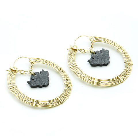 Yama Hoop Earrings