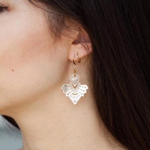Mini Metta Earrings - GOLD