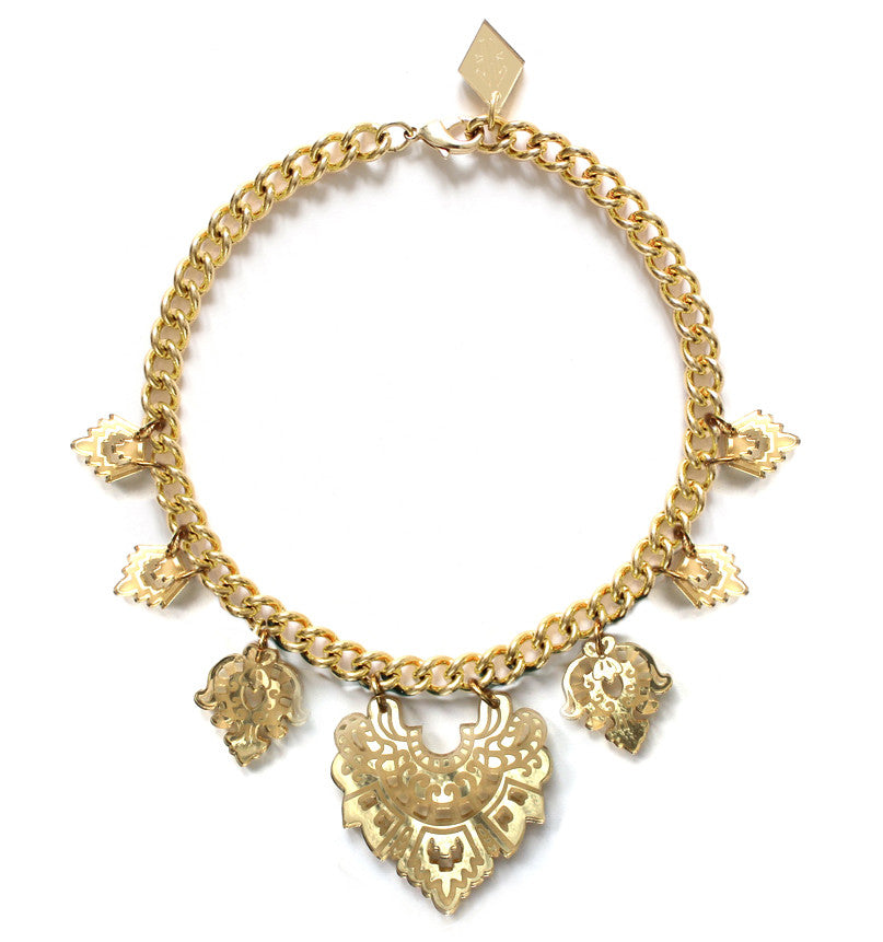 Empress Necklace - Gold