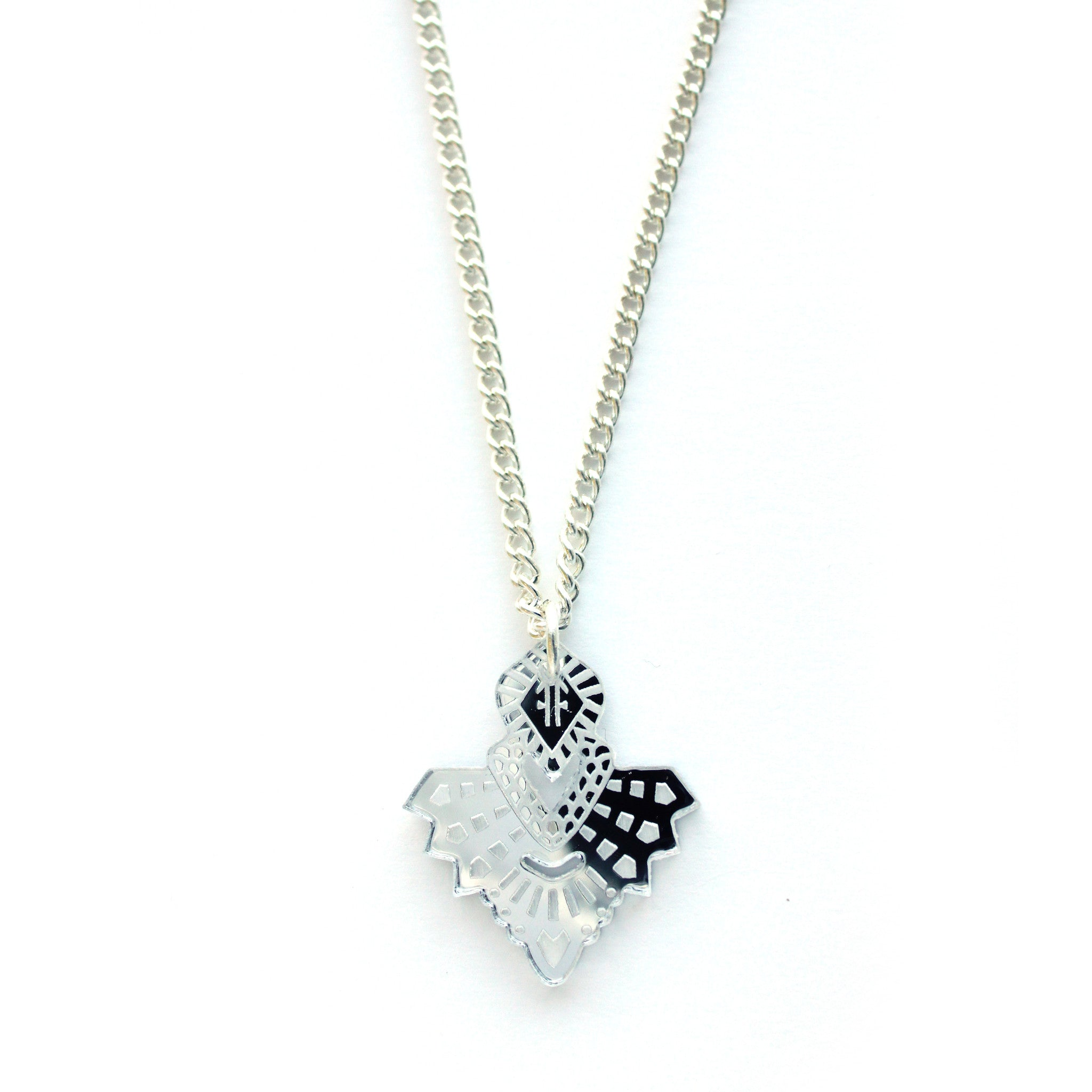 Mini Metta Necklace - Silver