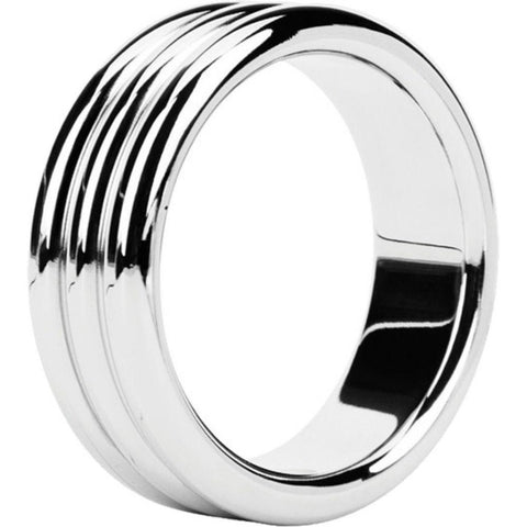 Malesation Triple 1.7 Inch Stainless Steel Cock Ring