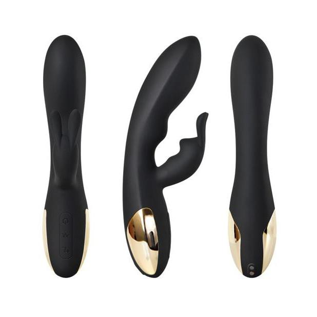 Adam & Eve Black Rabbit Vibrator
