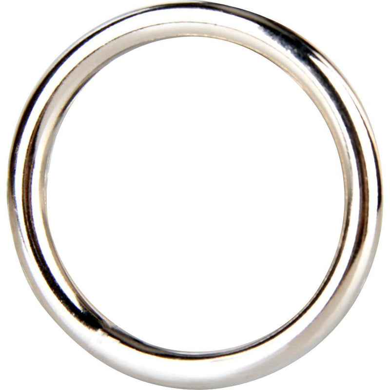 Blue Line Steel Cock Ring