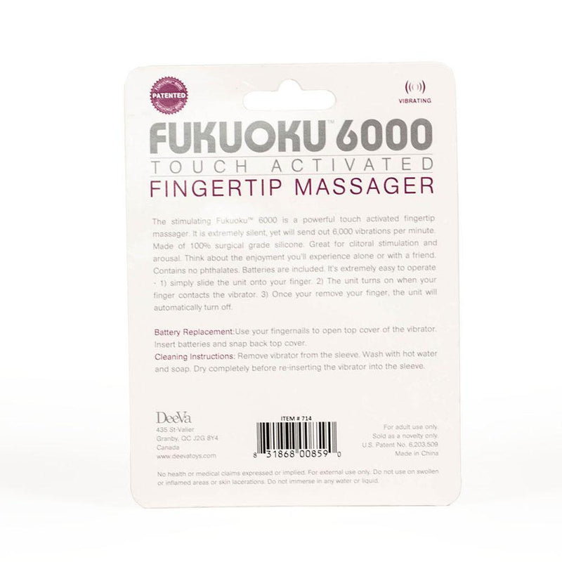 Touch Activated Fingertip Massager