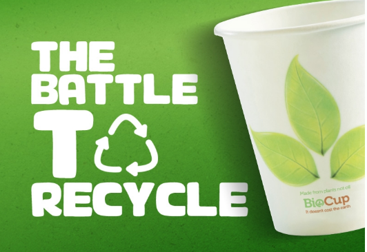 THE 'WAR ON WASTE' IS MORE A BATTLE TO RECYCLE !