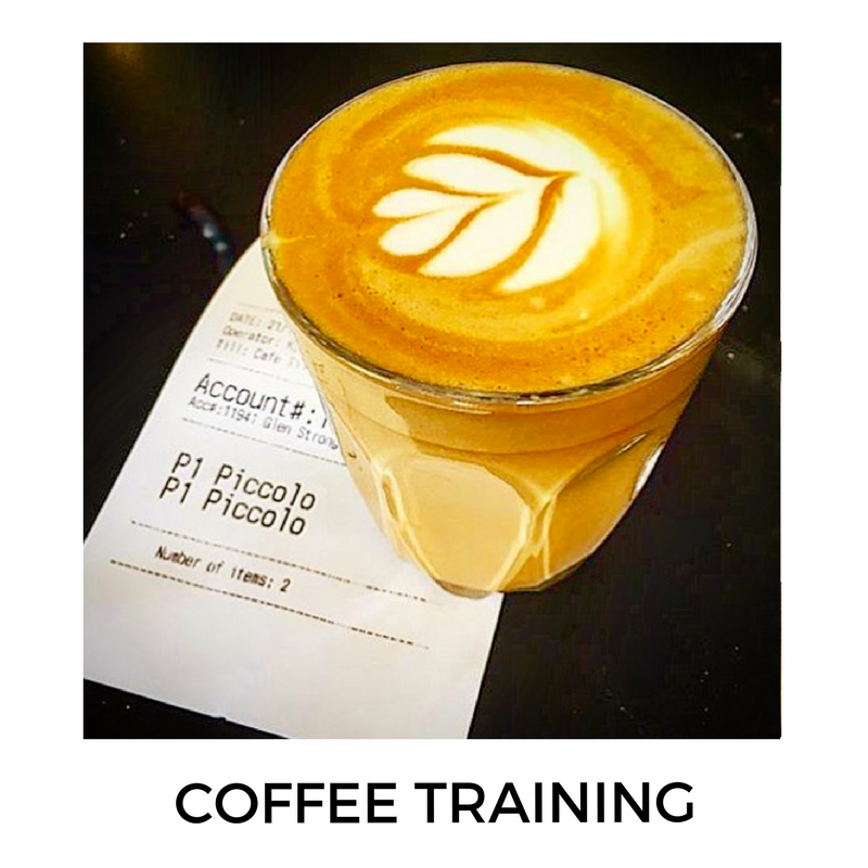'Barista Training'- Anyone can make espresso coffee.