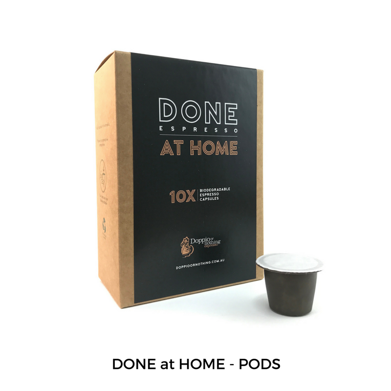 DONE at HOME - PODS