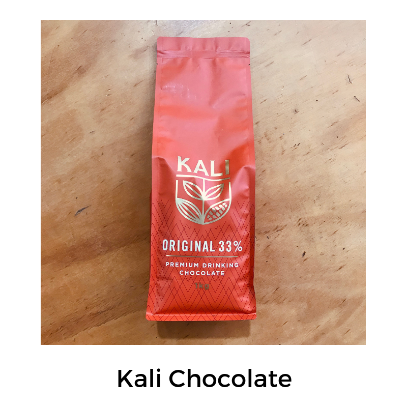 With 33% pure cocoa, sourced from West Africa, this powder is a premium blend of gluten free and dairy free chocolate.