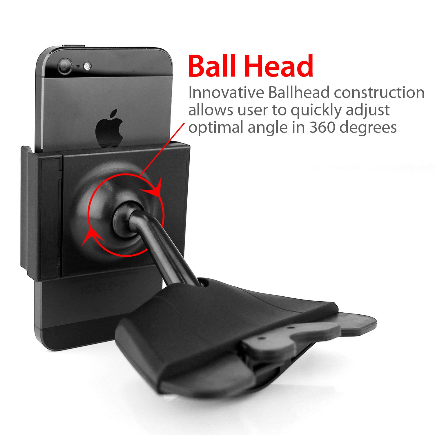 Car phone holder magnetic ball 8