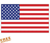 "U.S. FLAG 6"" Vinyl Sticker"