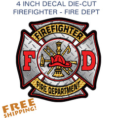 Firefighter Sticker - 1 piece