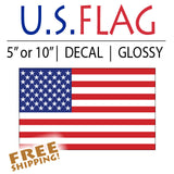 American Flag Sticker - Standard