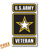 "ARMY VET 4"" Vinyl Sticker"