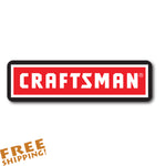 "CRAFTSMAN 6"" Vinyl Sticker Novelty"