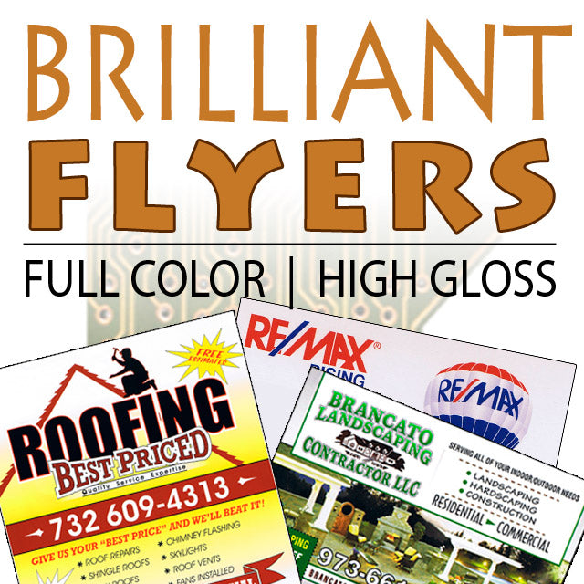 "Flyers 8.5"" x 11"" S/S - Business"