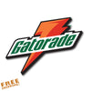 "GATORADE 4"" Vinyl Sticker Novelty"