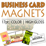 Magnetic Business Cards 17pt