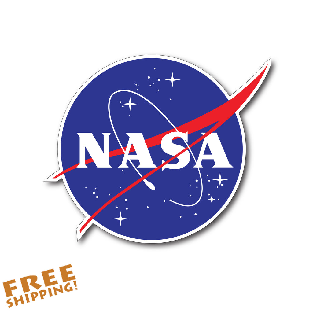 "NASA  3.5"" Vinyl Sticker Novelty"