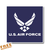 "AIR FORCE 4"" Vinyl Sticker"