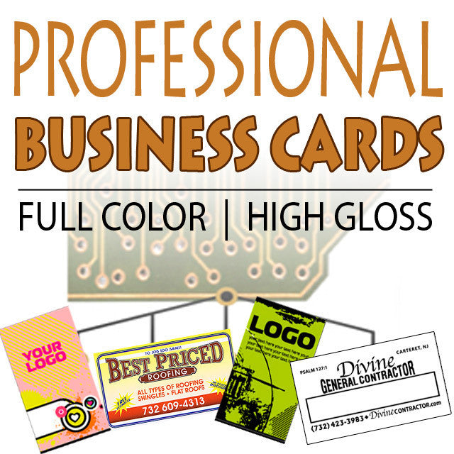 16pt (thick!) Business Cards