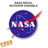 NASA Sticker 3.5""