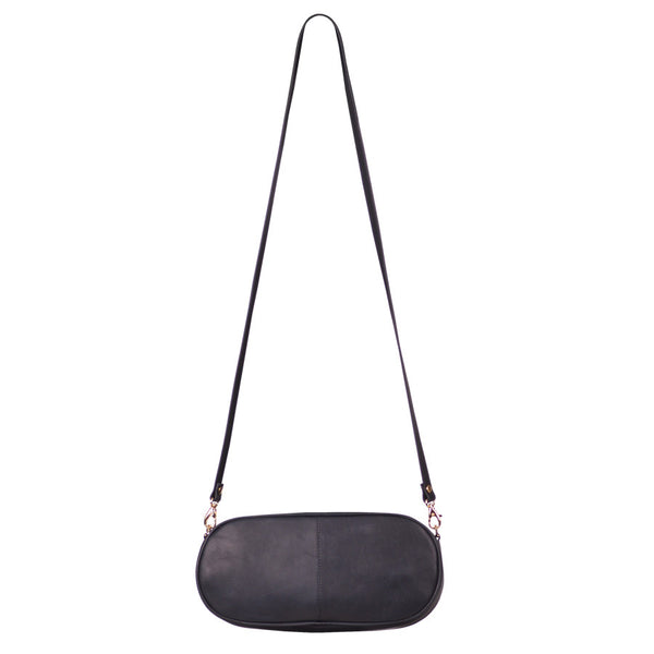 Bandage-Pill Cross Body (Black)