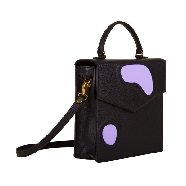 Welcomecompanions Classic Square Bag in Black