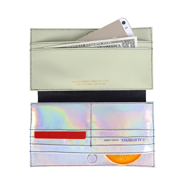 Mid-Rise-Dollar Bill Clutch-Wallet