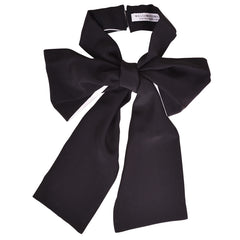 Silk Bow (Black and White)