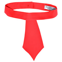 Silk Mini Tie (Red)