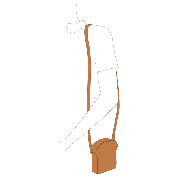 Cocktail Toast Cross Body