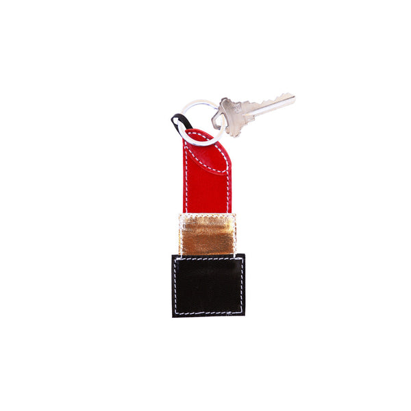 NEW Lipstick Key Fob (Red)