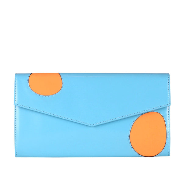 Welcomecompanions Classic Clutch in Blue