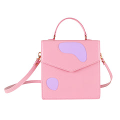 Welcomecompanions Classic Square Bag in Pink