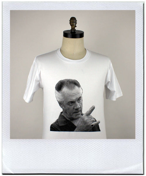 Paulie walnuts Gualtieri gets the job done. T-shirt by duncan mclean Wellington New Zealand