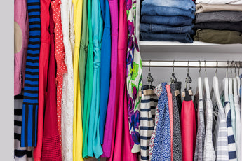 Use a Closet Organizer to Keep a Week's Worth of Outfits Ready for School