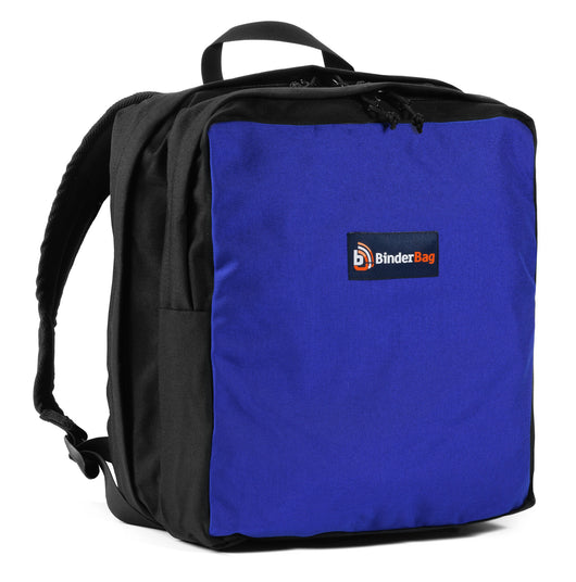Backpack -- Zippered Binder Bag