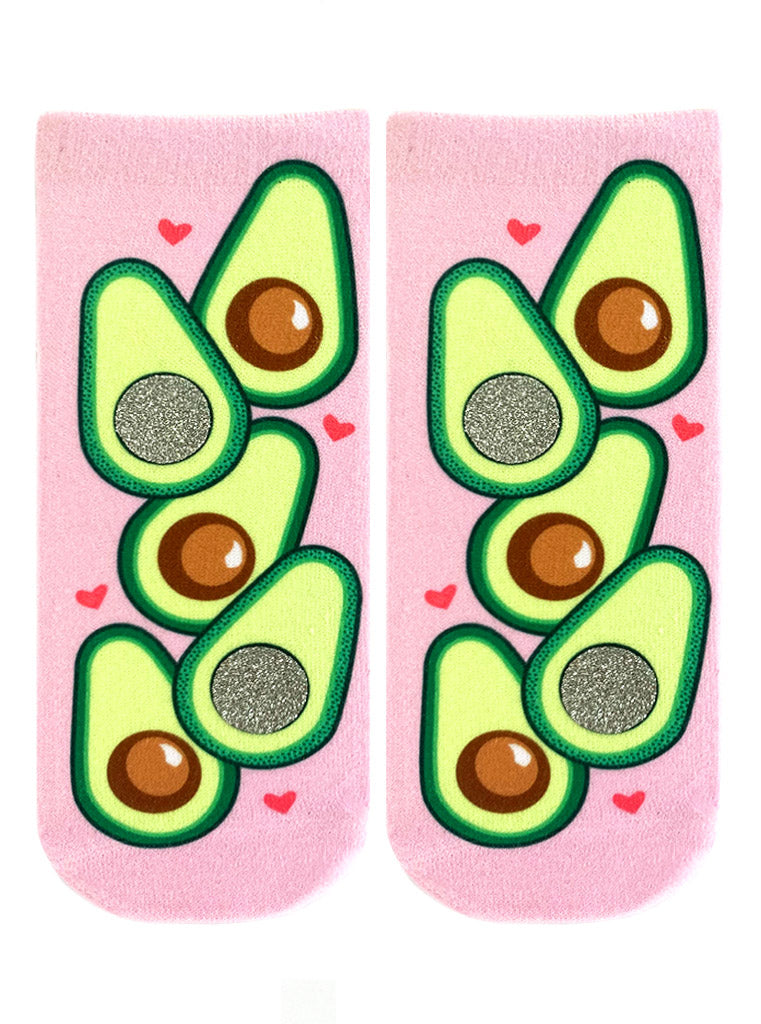 Avocado Queen Ankle Socks
