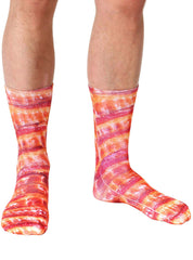 Bacon Crew Socks