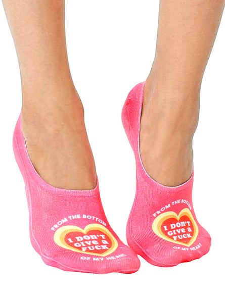 Bottom Of My Heart Liner Socks