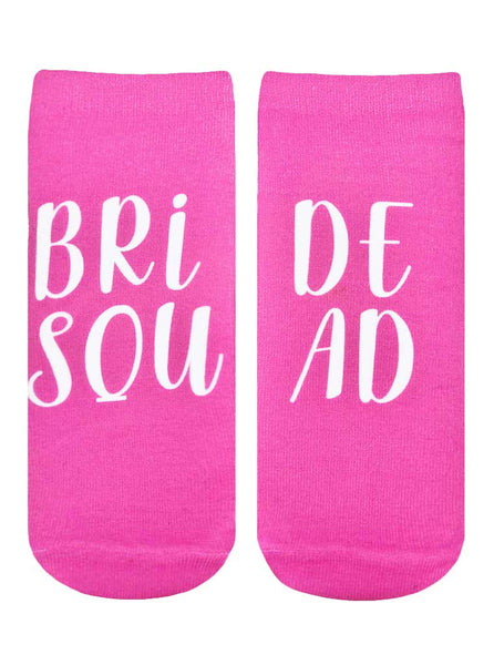 Bride Squad Ankle Socks