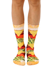 Burger Love Crew Socks