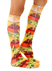 Burger Love Knee High Socks
