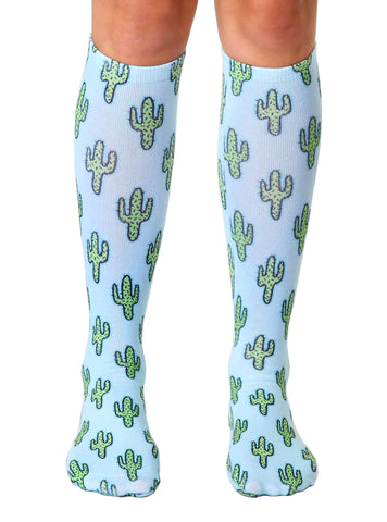 Cactus Knee High Socks