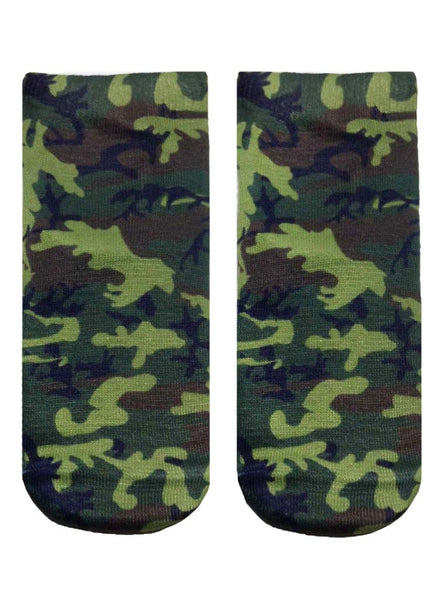 Camo Ankle Socks