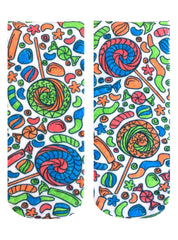 Color-In Socks Candy Lane